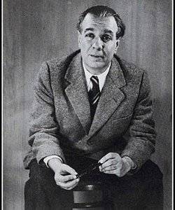 Borges in 1951, by Grete Stern