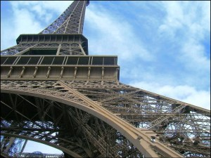 Eiffel Tower. Photo 2007 by Douglas Pinson