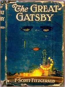 Jacket for The Great Gatsby. Cerca 1925