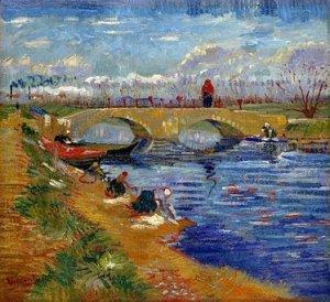 The Gleize Bridge, by Vincent Van Gogh. 1888
