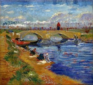 The Gleize Bridge, by Vincent Van Gogh. 1888