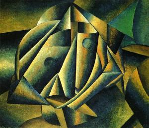 Head of a Peasant Girl, by Kazimir Malevich. 1913