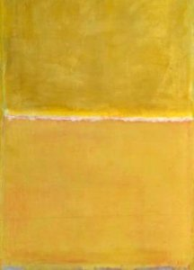 Mark Rothko, Untitled, c. 1950/ 1952, Oil on canvas. The Tate Modern Museum, London