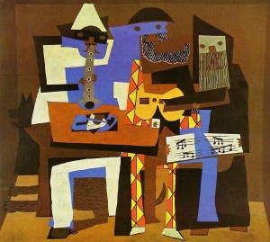 Three Musicians, by Pablo Picasso. 1921