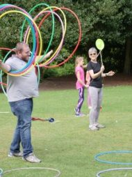 circus skills west midlands