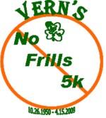 Verns No Frills 5k Run