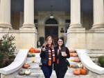Sydney Torabi with Sister Shayda Torabi at Hotel Ella Tail Gate - Austin, Texas