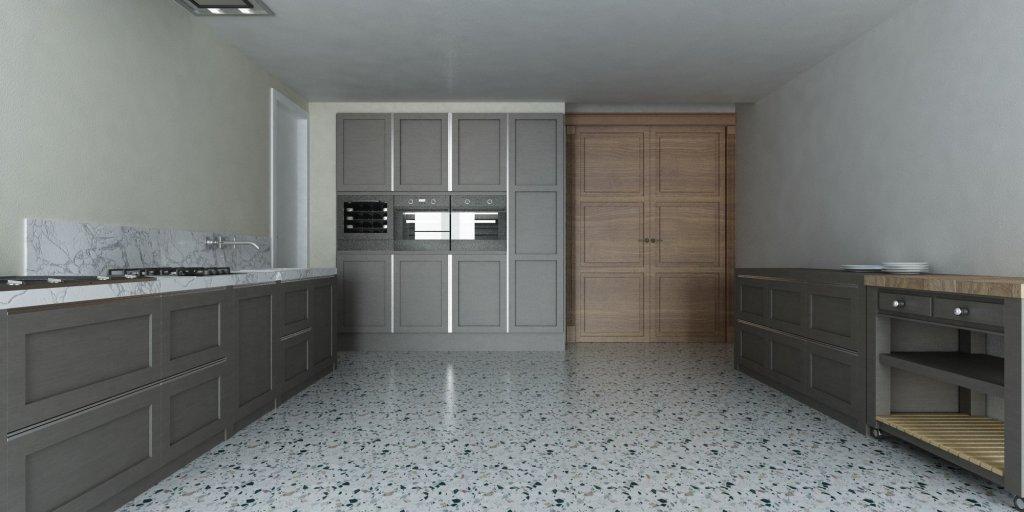 Render Cucina Classico Veneziana   SP interior Design