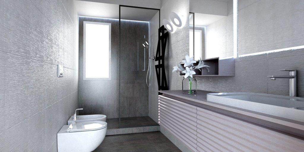 come progettare l'interno di un appartamento al mare: il bagno