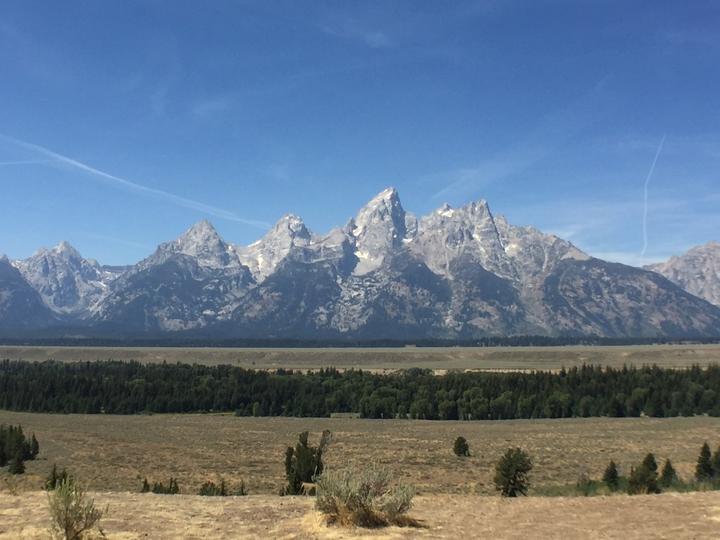 Wheeling Solo on the Road: Grand Teton, WY