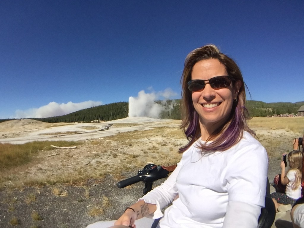 Wheeling Solo on the Road: Yellowstone, WY