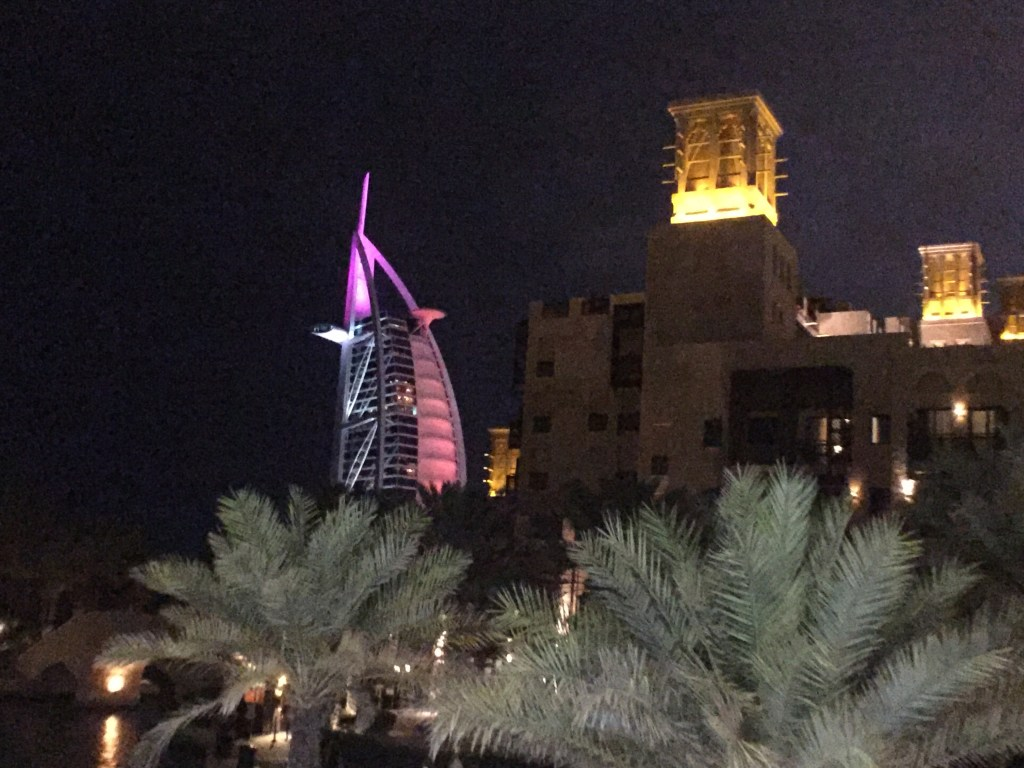Exploring Dubai's Burj Al-Arab and Souk Madinat