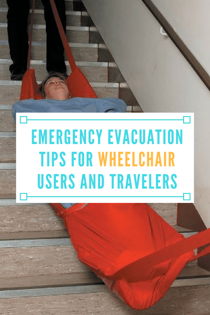 emergency evacuation tips for wheelchair users travelers