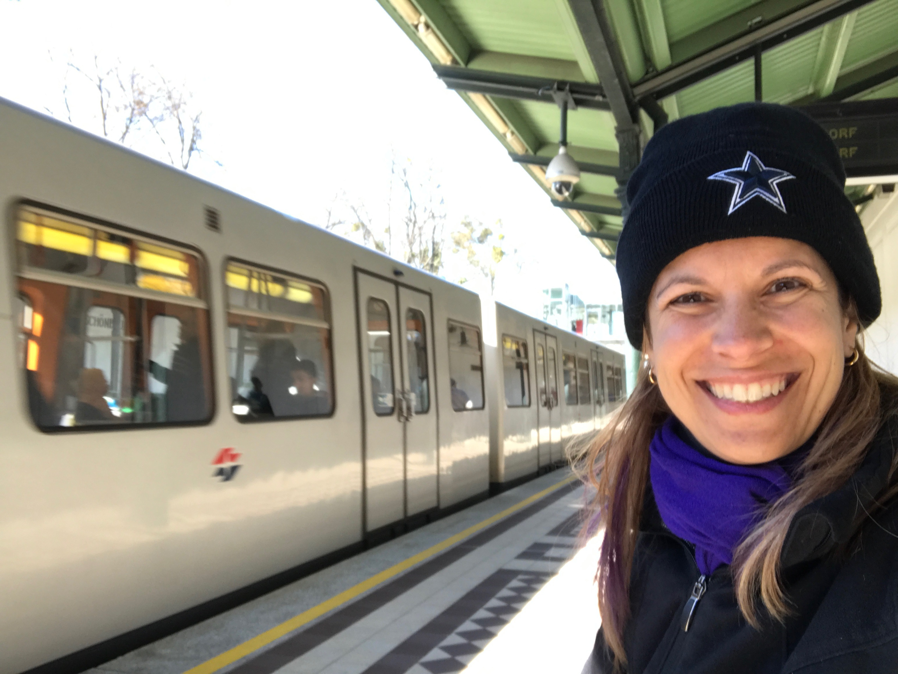 Using the Vienna metro to visit Schonbrunn Palace
