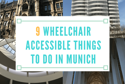 wheelchair accessible things to do in munich