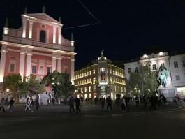 ljubljana slovenia preseren square