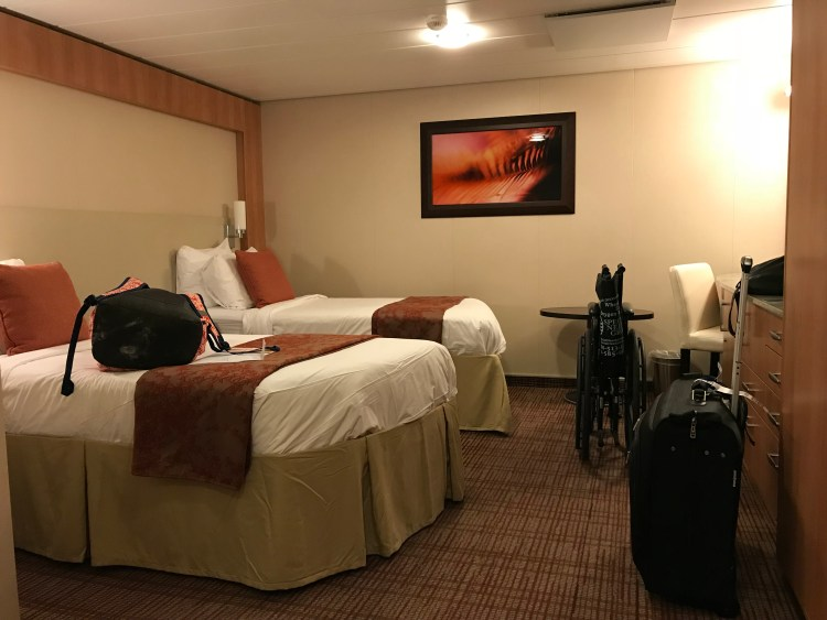 celebrity silhouette wheelchair accessible inside cabin