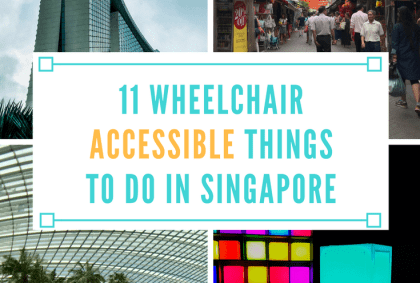 wheelchair accessible things to do in singapore