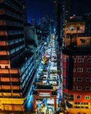 temple street night market kowloon hong kong