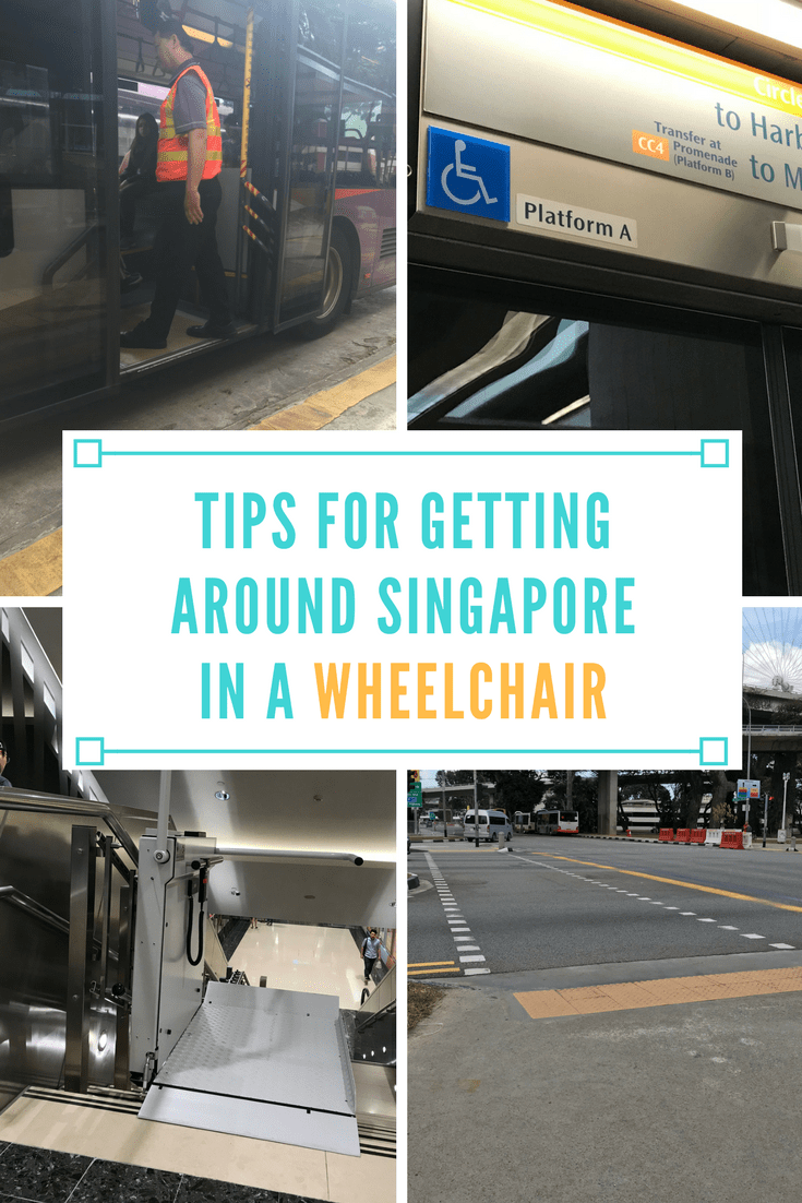 tips for getting around singapore in a wheelchair