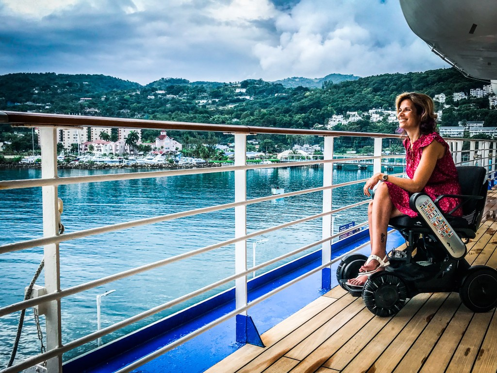 Cruise Port of Call Wheelchair Accessibility Review: Ocho Rios, Jamaica