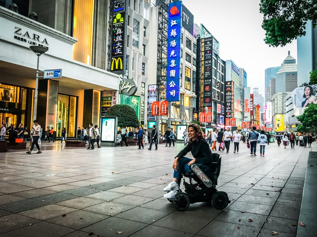A Wheelchair User's Guide to Visiting Accessible Shanghai, China