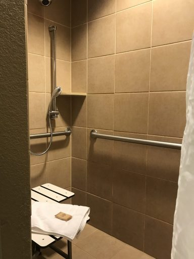 The Problem With Roll In Showers In Wheelchair Accessible Hotel Rooms Spin The Globe