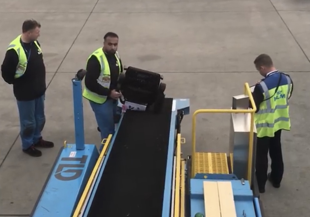 Inside the World of Airline Baggage (and Wheelchair) Handlers