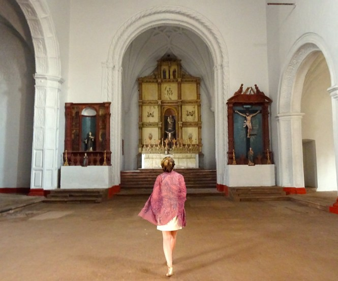 The Chapel of Our Lady of Rosary, Old Goa, India