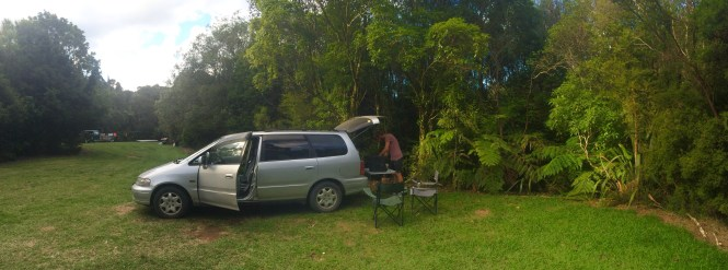 Camping in the Coromandel, New Zealand