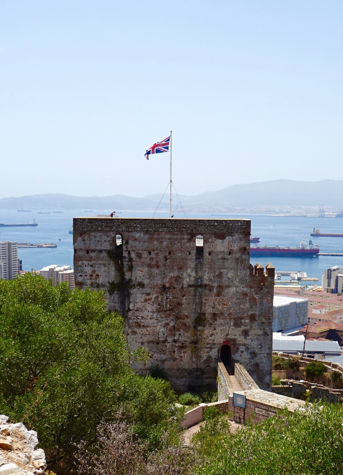 The Moorish Castle, Gibraltar