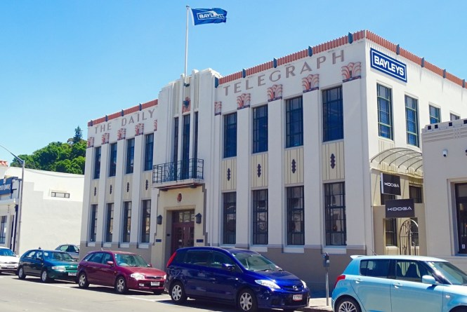 Daily Telegraph Building, Napier, New Zealand