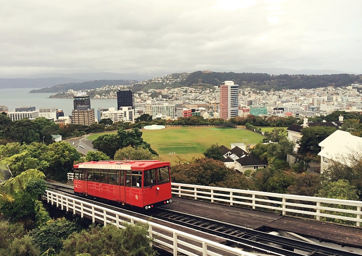 The Cable Car, Wellington, New Zealand