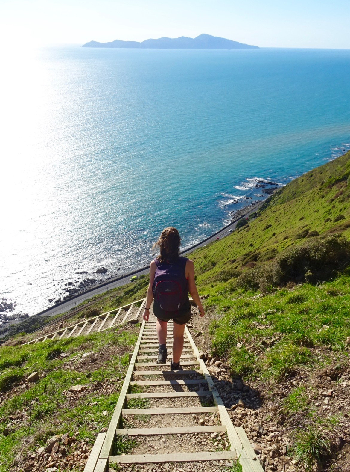 Stairway to Heaven, Paekakariki to Pukerua Bay, spinthewindrose.com