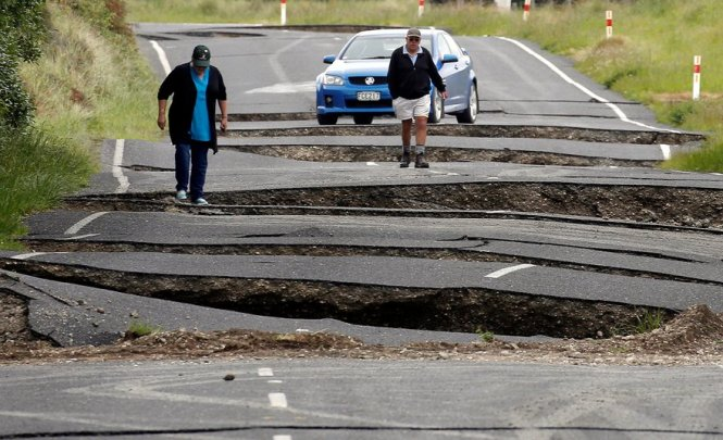 Kaikoura Earthquake 2016