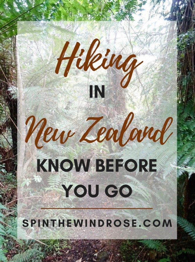 Hiking in New Zealand - spinthewindrose.com