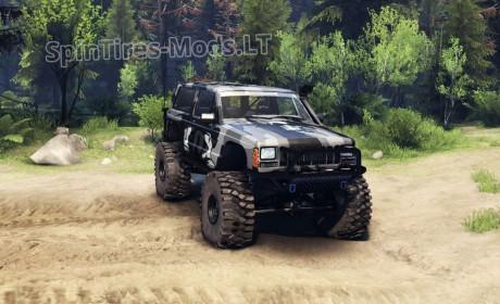 jeep cherokee xj v