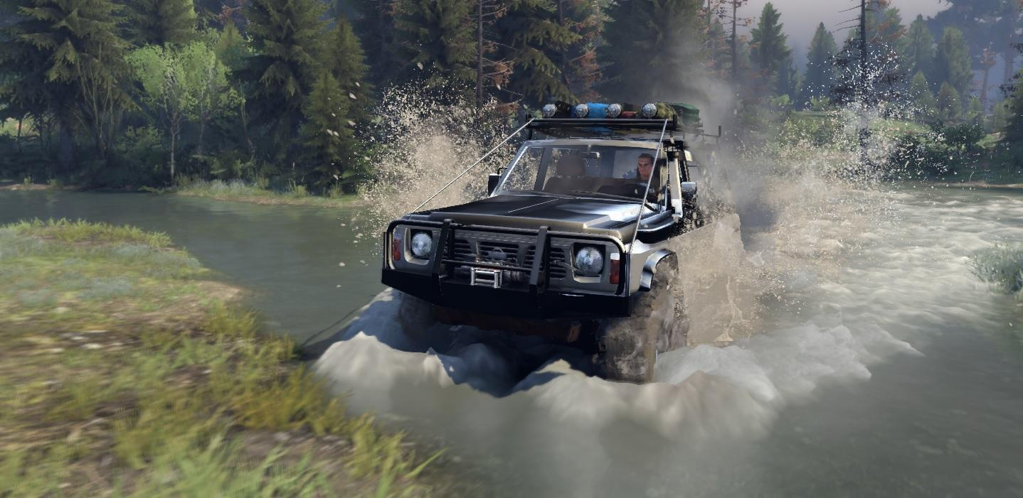 Full Hd Car Wallpapers 2014 Nissan Patrol Y60 Quot Beta Quot V 0 8 0 8 Spintires Mods