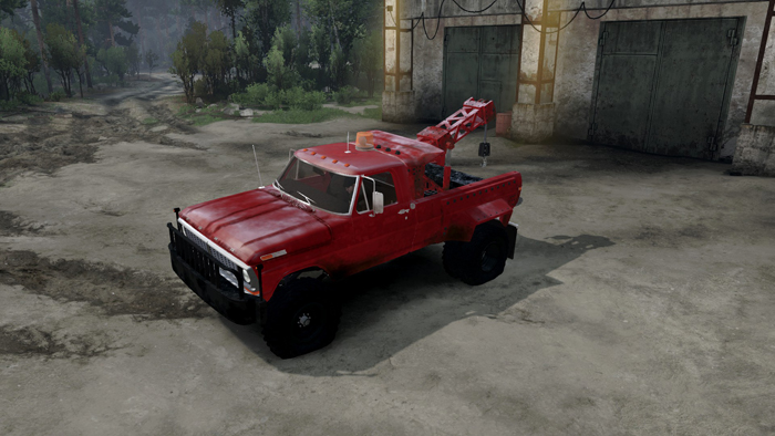Cars Wallpaper Gta Vm 1970 Ford Tow Truck Spintires 03 03 16 Spintires