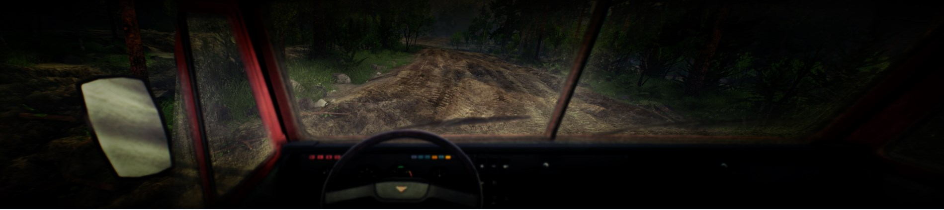 View from the drivers seat