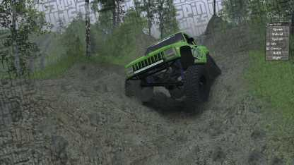 KentBobo Spintires Map - Jeep WJ