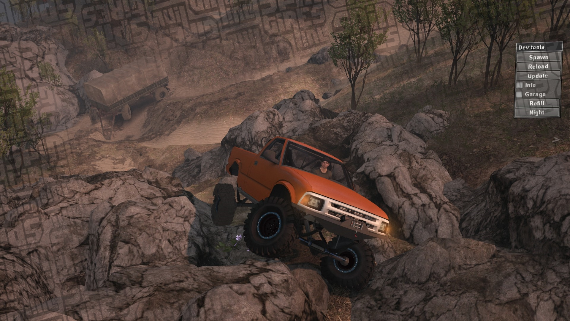 OffRoading - Canyonlands - Spintires