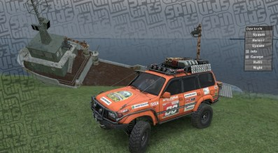 Old Telegraph Track - Spintires - Toyota
