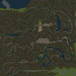 Spintires Map - Old Telegraph Track