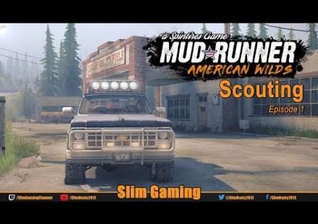 SPINTIRES – MudRunner – American Wilds Episode 1