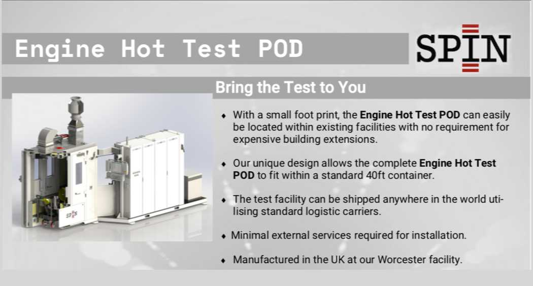 Engine Hot Test Bringing the test to you