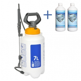 Combinatie Aanbieding : 2 liter Cleanweb met een Hozelock 7 liter drukspuit