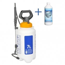 Combinatie Aanbieding : 1 liter Cleanweb met een Hozelock 7 liter drukspuit