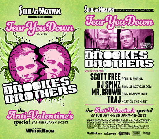 Flyer SIM Brookes Brothers