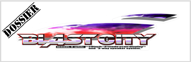 Bannière Sega Blast City